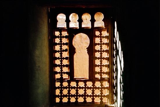 Holzfenster in einer Kasbah - mein Lieblingsbild