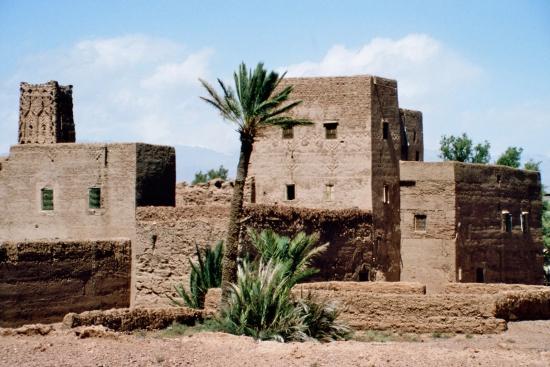 Kasbahs sind die Wahrzeichen Marokkos