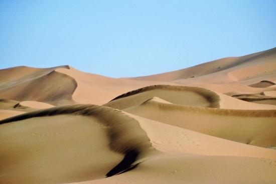 Die Dünen des Erg Chebbi - einfach schön