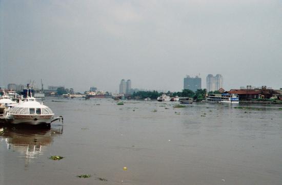Auf dem Saigon River Richtung Vung Tao
