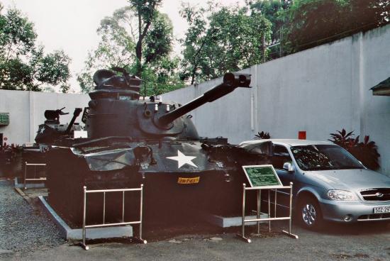 Vietnam Kriegsmuseum in Saigon - Drastische Bilder, viele Infos, sehr bewegend