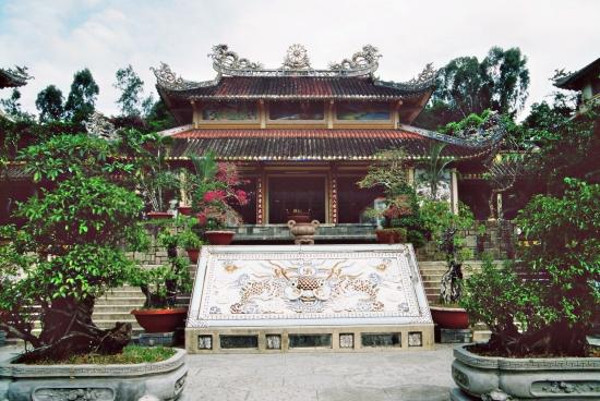 Hier findet man Ruhe - im Tempel lässt es sich hervoragend Pause machen