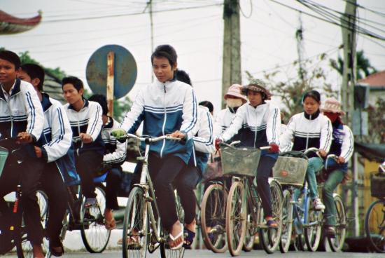 Es gab auch noch andere Radfahrer