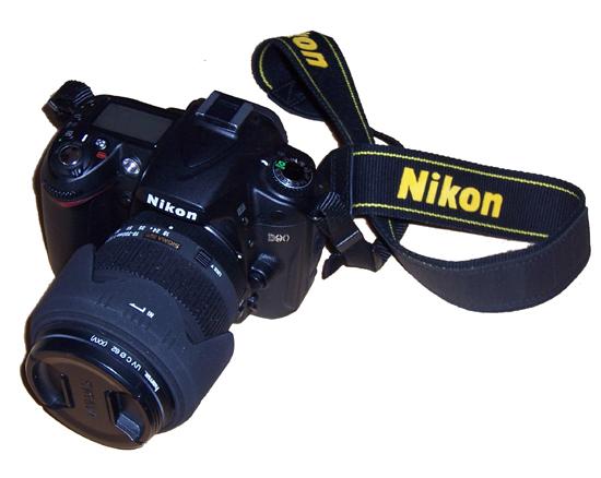 Meine Neue - kann auch Bewegtbild: Nikon D90