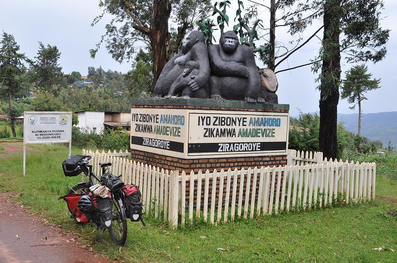 Gorillas in the mist - nicht mehr weit bis zum Virunga National Parc