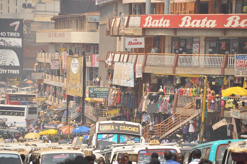 Welcome to Kampala Traffic Jam!