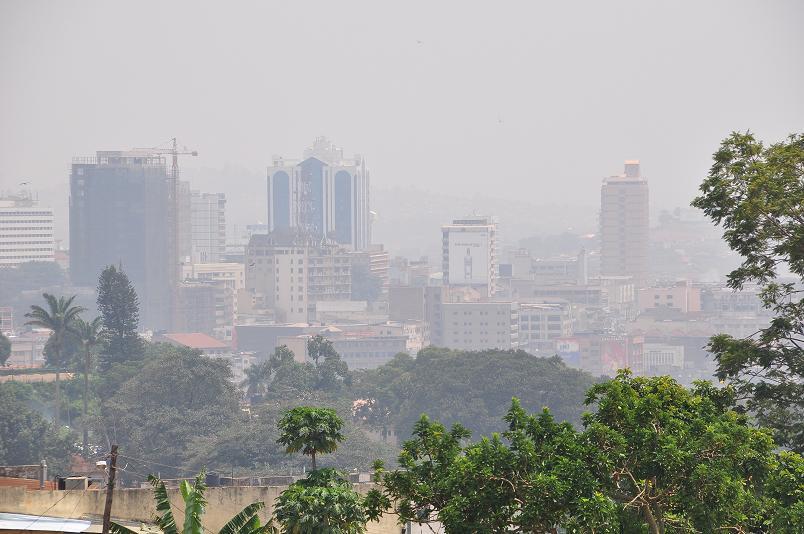 Kampala Skyline - diese Stadt zaehlt zu den wachstumsstaerksten Afrikas