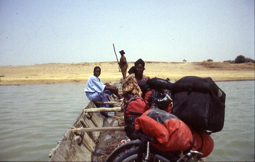 Überquerung des Niger