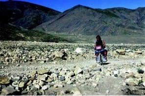 Piste im Himalaya
