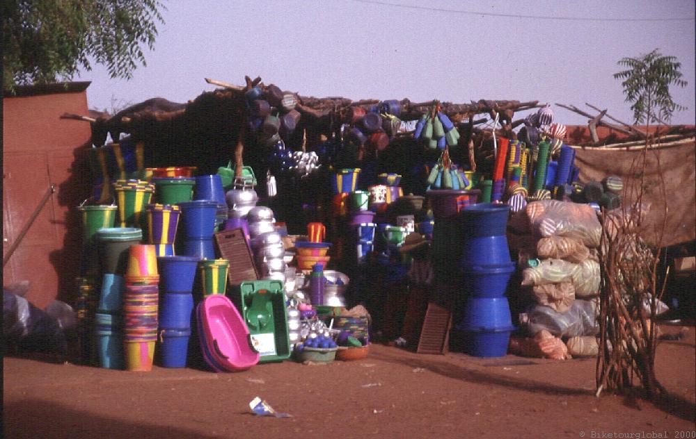 Haushaltswaren in Bamako
