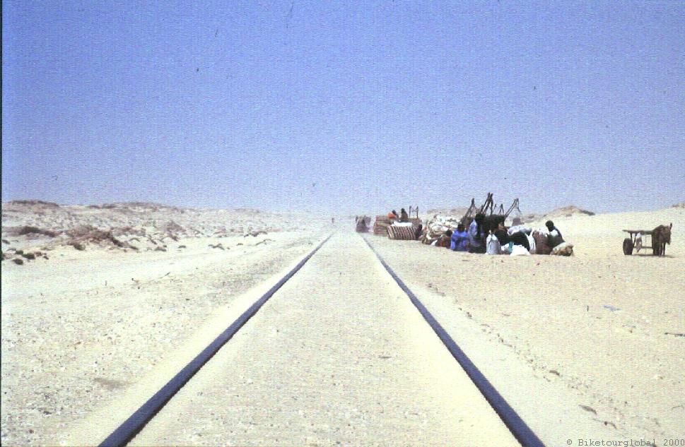 Die Eisenerzbahn in Mauretanien ist die längste der Welt