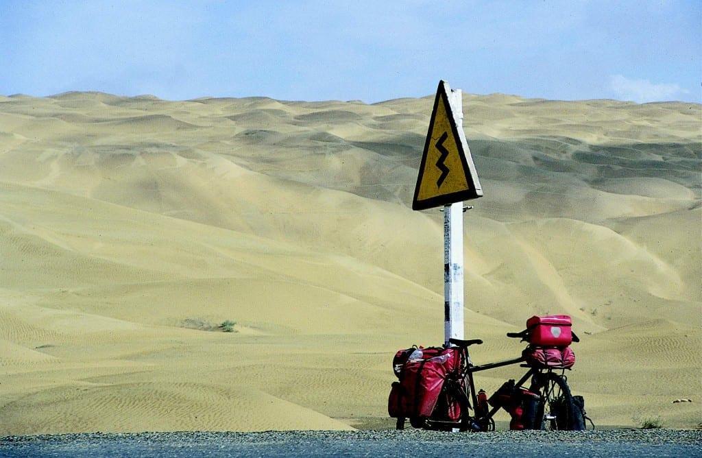 Die Takla-Makan - Wüste ohne Wiederkehr - lag auf unserem Weg auf das Dach der Welt