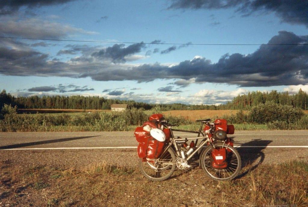 Nordkapp 1995 - 5000 km durch Skandinavien
