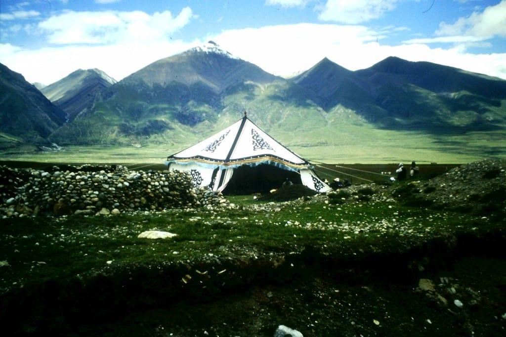 Camping Deluxe - Uiguren Zelt in Tibet