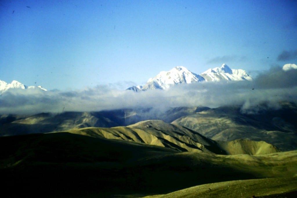 Blick auf die 8.000er des Himalaya