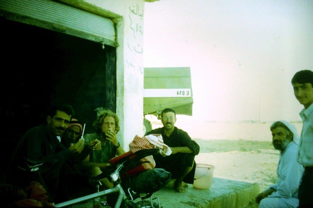Pause mit Kurt und seinen Freunden