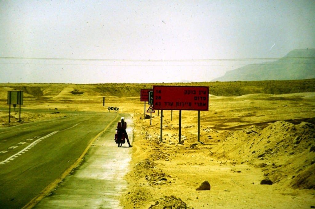 Entlang des Toten Meeres durch Israel