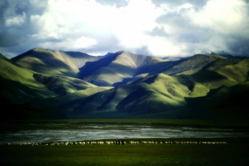 Für solche Landschaften und Momente fahre ich überall gerne hin... (Tibetisches Hochland)