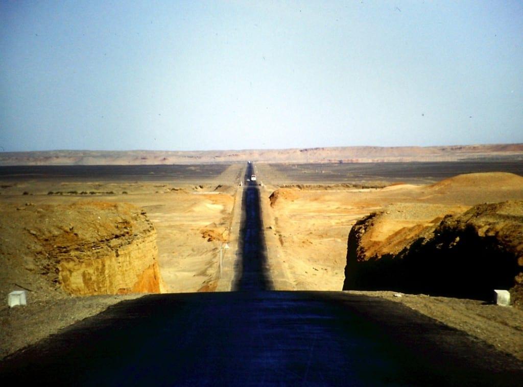 Ich habe jeden Kilometer genossen ;-) - in Kasachstan