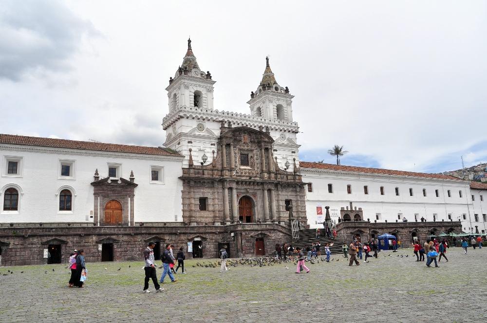 Die San Francisco Kirche in Quito