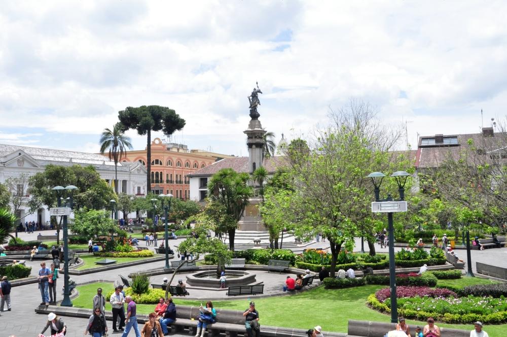 Platz der Unabhängigkeit in Quito