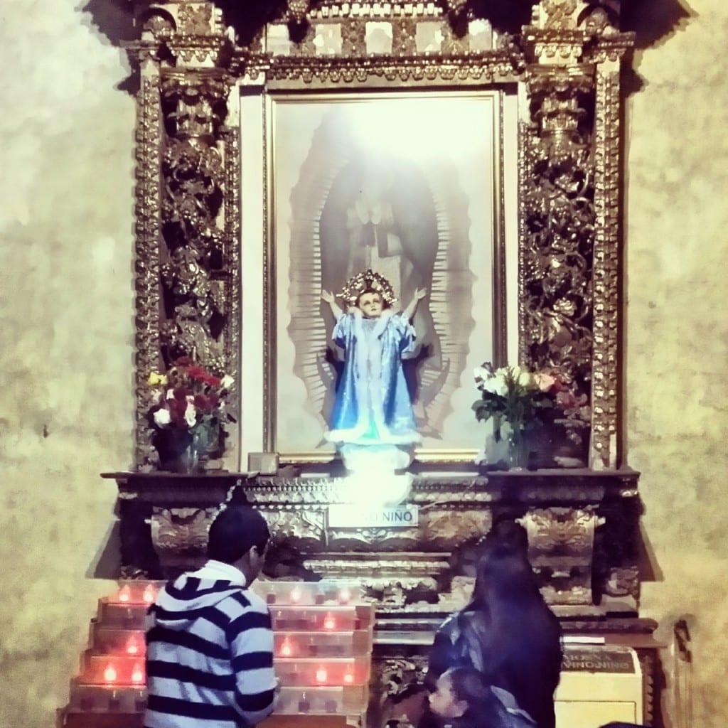 Altar in der San Domingo Kirche