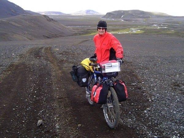 Heike auf Island © www.pushbikegirl.com