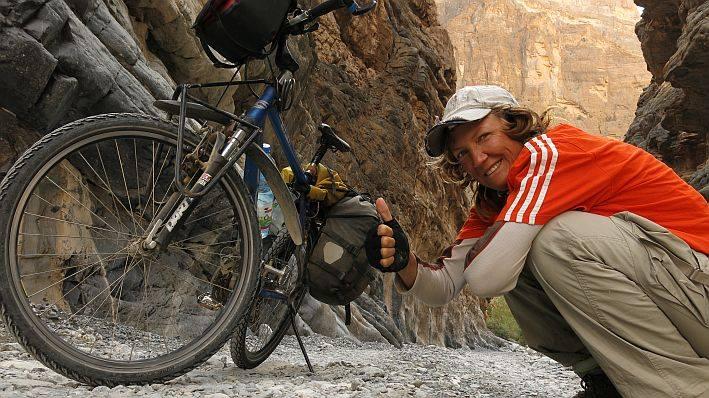 Heike und ihr Rad © www.pushbikegirl.com
