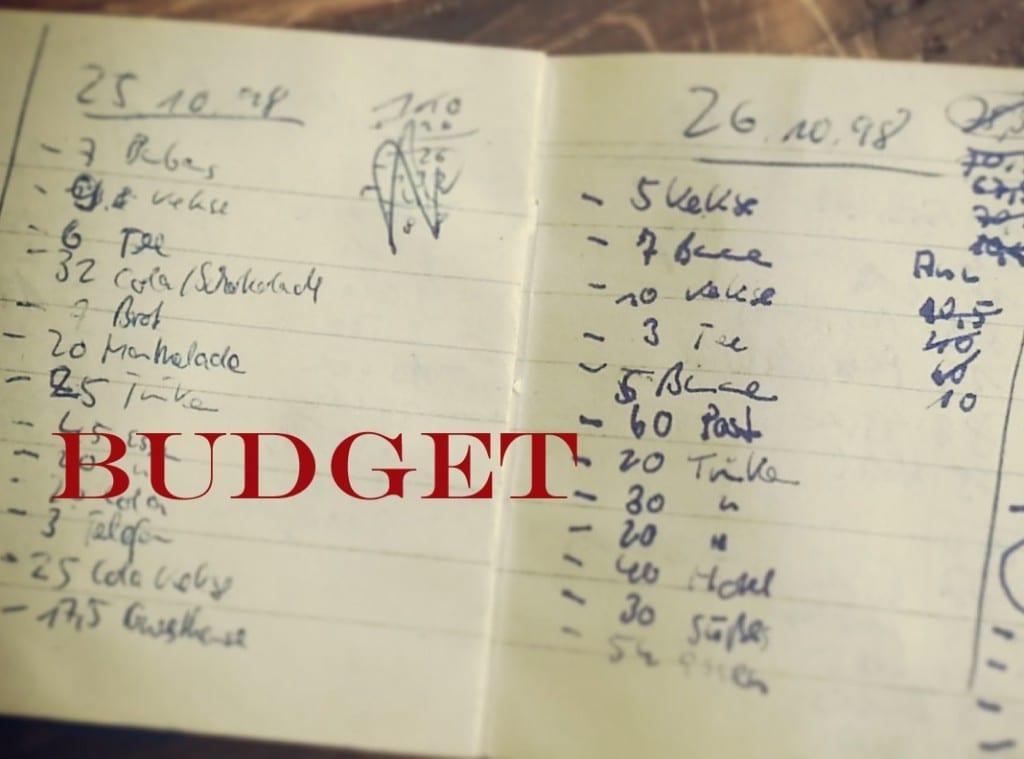 radtourplanung budget