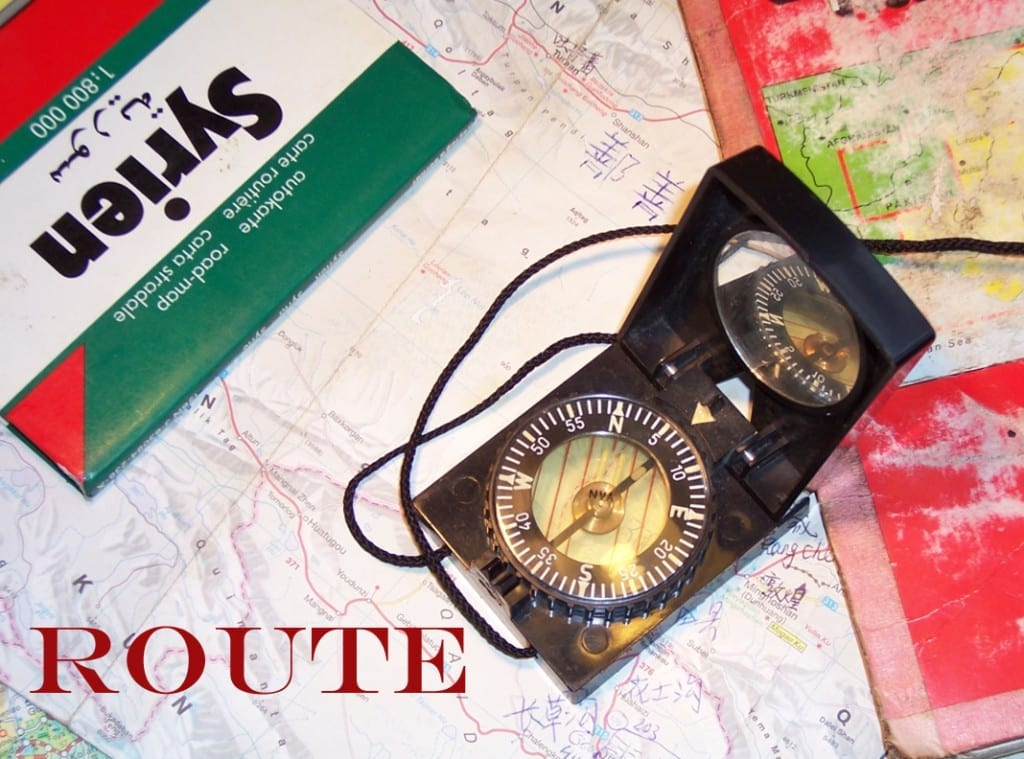 radtourplanung route