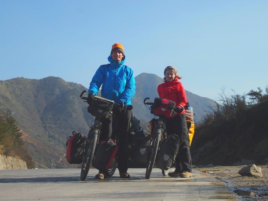 Monika und Stephan auf ihrer Eurasia Tour © www.cyclingeurasia.com