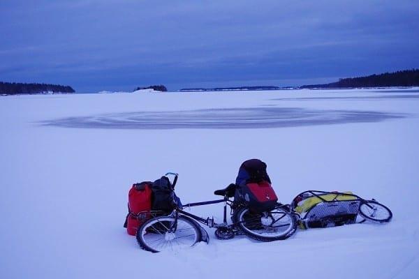 """Schweden 2013 – der """"Berserker"""" auf der gefrorenen Ostsee © www.lonelytraveller.de"""