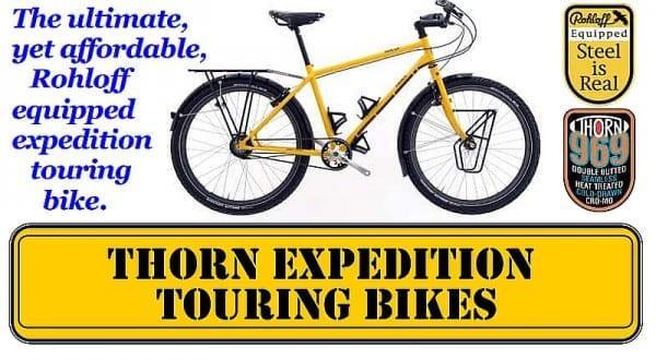 top reiseräder thorn nomad website screenshot