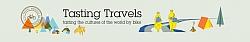 website banner tasting travels web