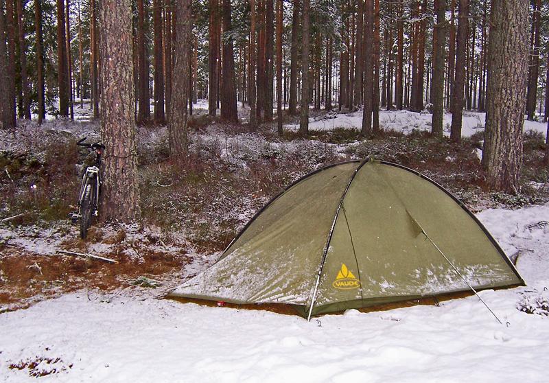 Mein Nachtlager in Norwegen