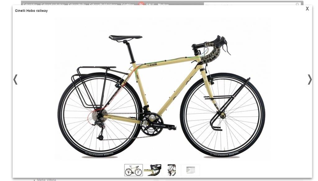 8 unter 1500 screenshot chinelli hobo von fahrrad.de