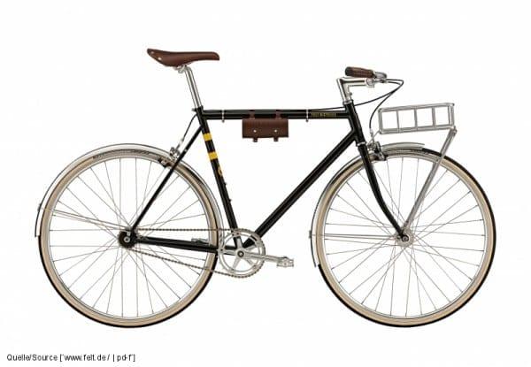 So schön: das York von Felt Bicycles  (Quelle: Quelle: www.pd-f.de /  felt)