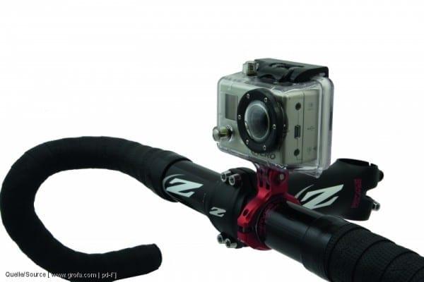 Actioncam-Halter von K-Edge (Quelle: Quelle: www.pd-f.de / grofa)