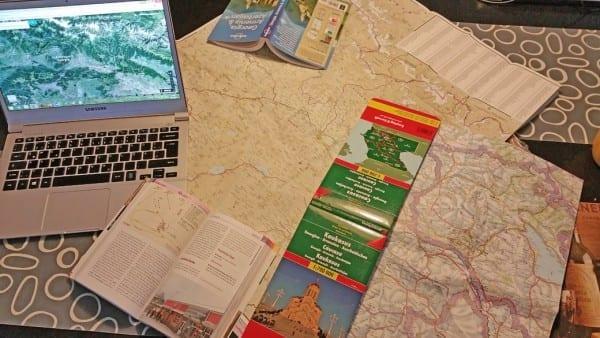 Tourplanung Kaukasus