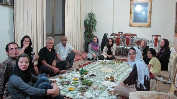 Zu Gast bei der Familie von Reza und Rezvan © radtraum.de