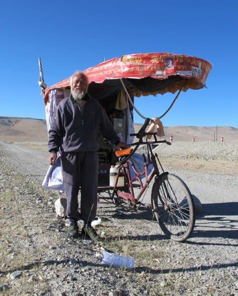 Chinesischer Reiseradler auf dem Weg nach London © radtraum.de