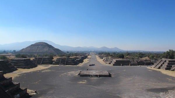 Sonnenpyramide Mexiko © radtraum.de