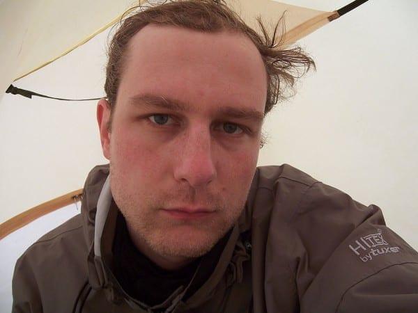 Ich musste Aufgeben: im Zelt in Norwegen 2006