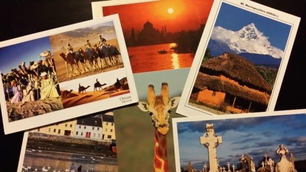 Postkarte zu gewinnen: diesmal aus dem Kaukasus