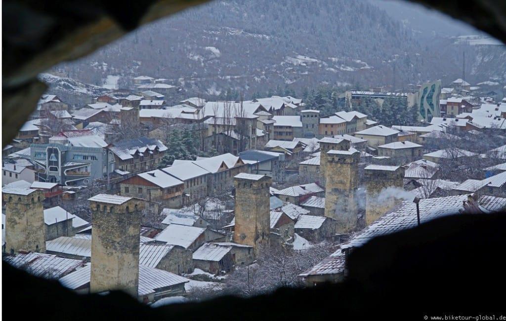 Blick vom Swanen-Turm