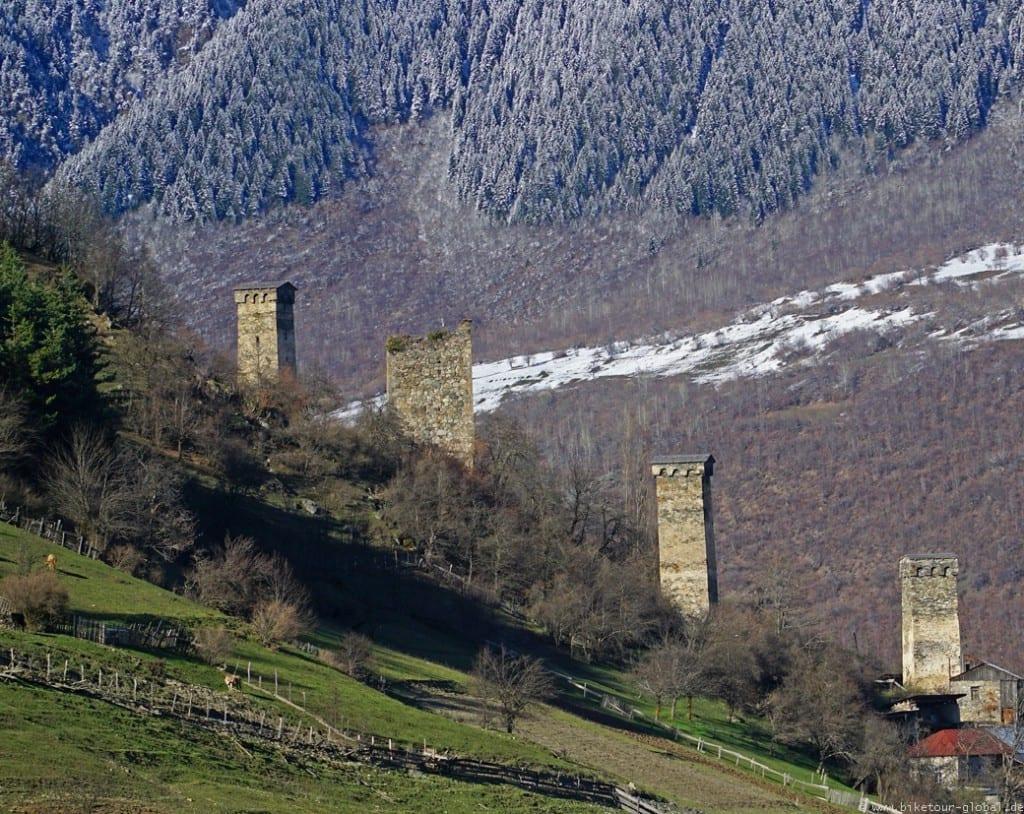 Swanen-Türme in Mestia