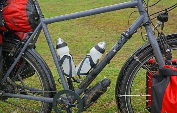 Hat am Rad alles mitgemacht: Stöße, Schläge, Dreck, Wasser, Schnee und Kälte