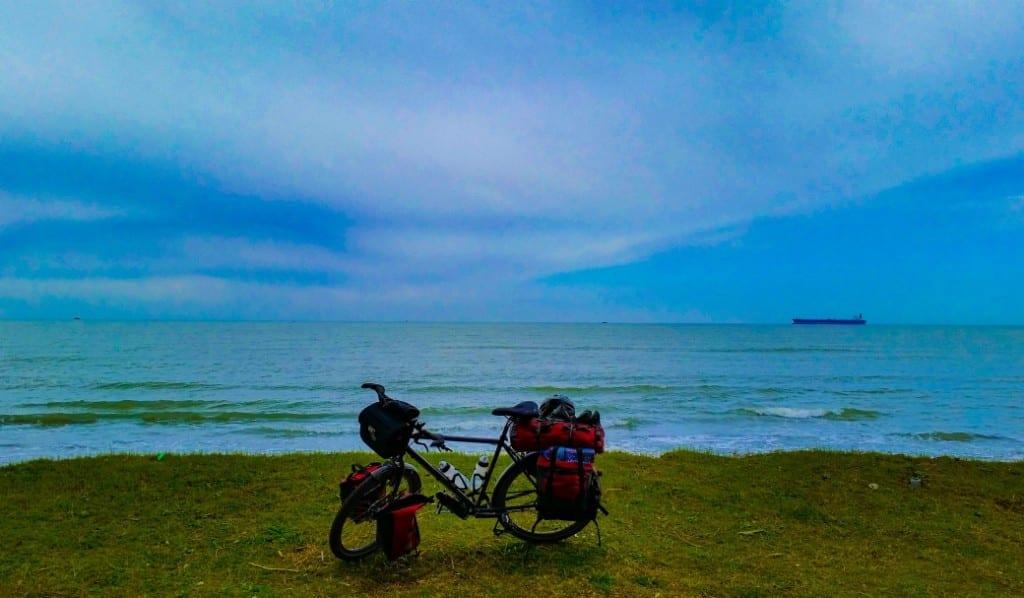 Blaue Stunde am Schwarzen Meer