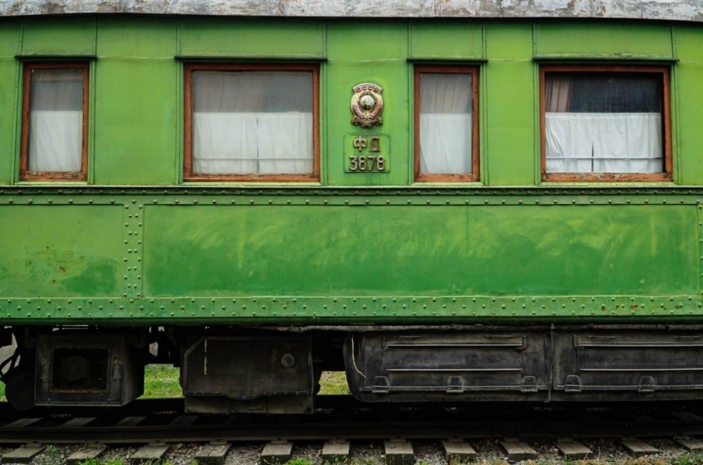 Stalins Eisenbahnwaggon, mit dem er u.a. zur Jalta-Konferenz gefahren ist