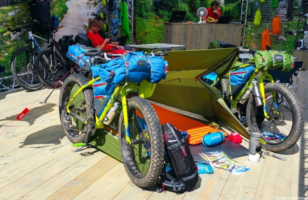 Eine interessante Bikepacking Idee auf der Eurobike